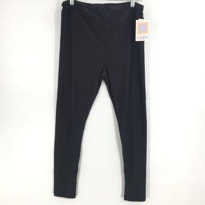 LulaRoe black tall curvy leggings